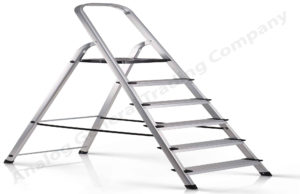 Aluminum Self Supporting Folding Ladder