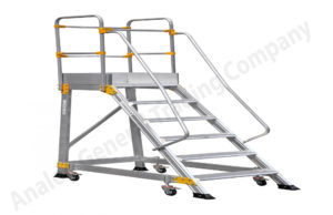 Aluminum Trolley Type Ladder