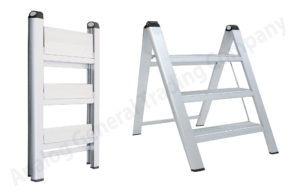Aluminum Wide Step Ladder UAE