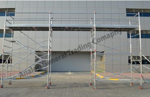 BRIDGE TOWER ALUMINUM SCAFFOLDING