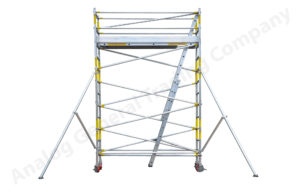 FOLDABLE TOWER ALUMINUM SCAFFOLDING