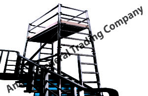 Integral Ladder Mobile Scaffolding Tower