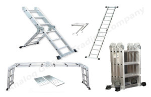 Multi-Purpose Aluminum Ladders in UAE