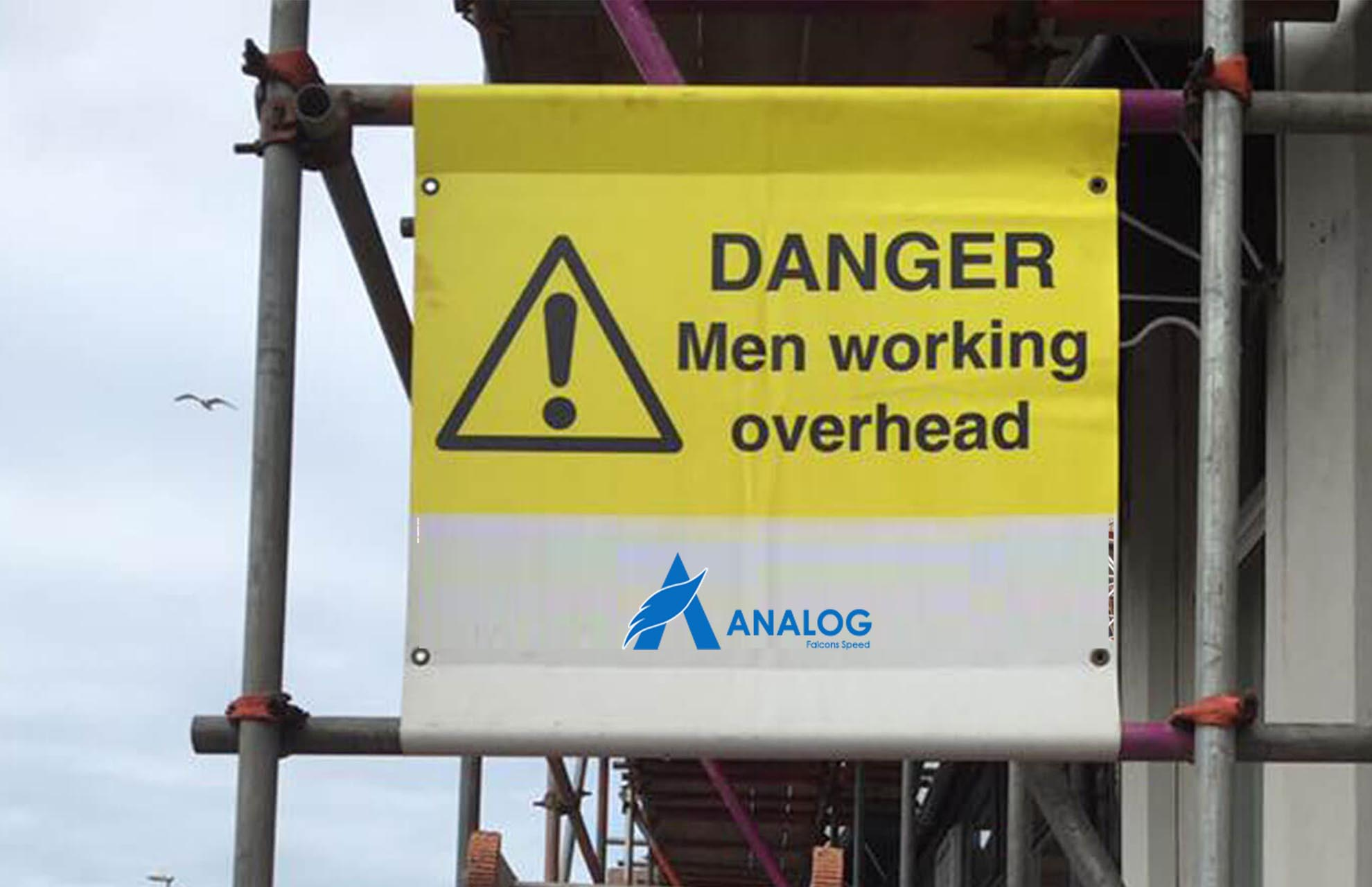 Scaffolding for Sign Boards and Signages