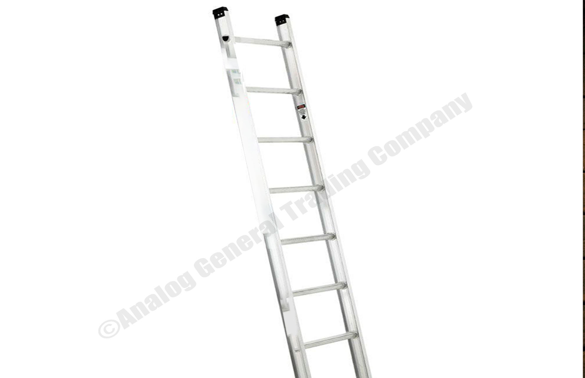 Aluminum striaght ladder