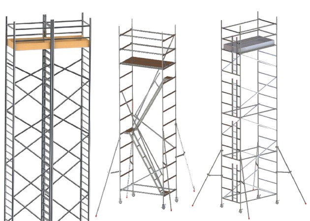 scaffolding building material in UAE
